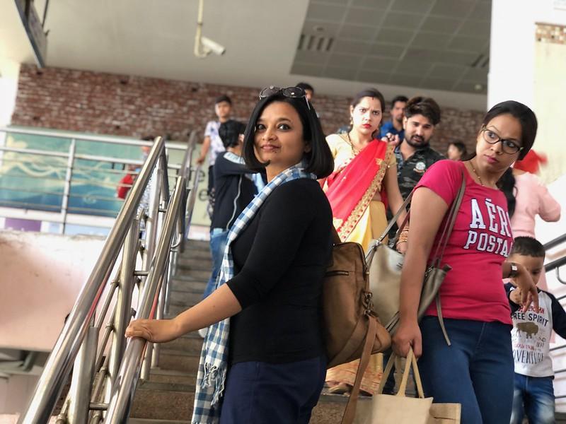 Mission Delhi - Nayana Chowdhury, Blue Line Metro