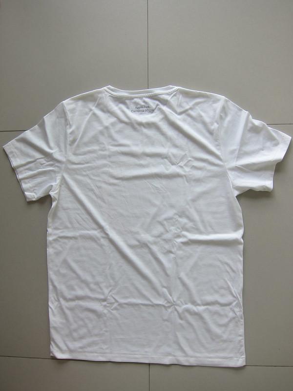 Apple Park T-Shirts - White - Back