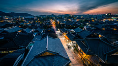 Sunset in Jeonju - South Korea - Travel photography