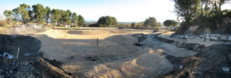 Construction du nouveau skate-park