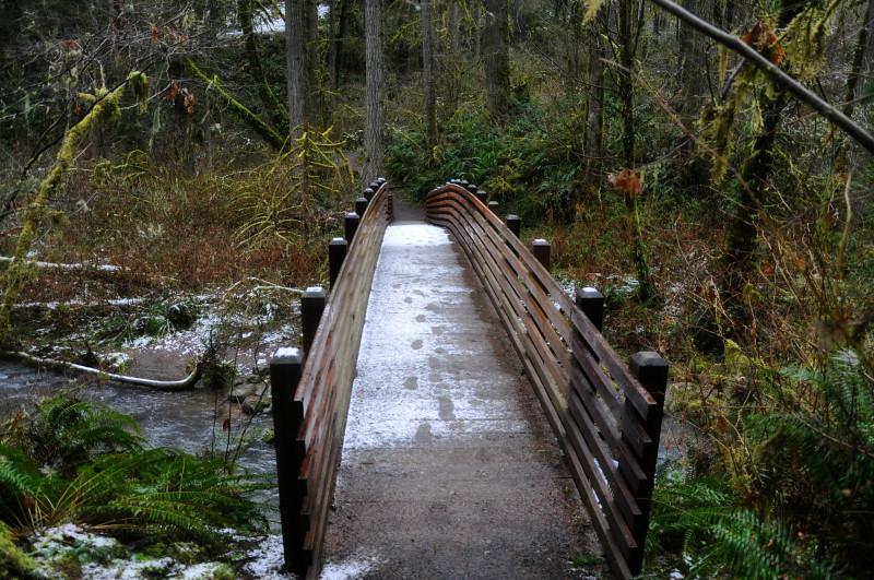 McDowell Creek Falls Snow @ Mt. Hope Chronicles