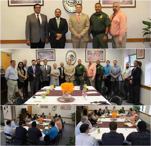 Sexta reunión del grupo TRICAMEX en la ciudad de Del Rio