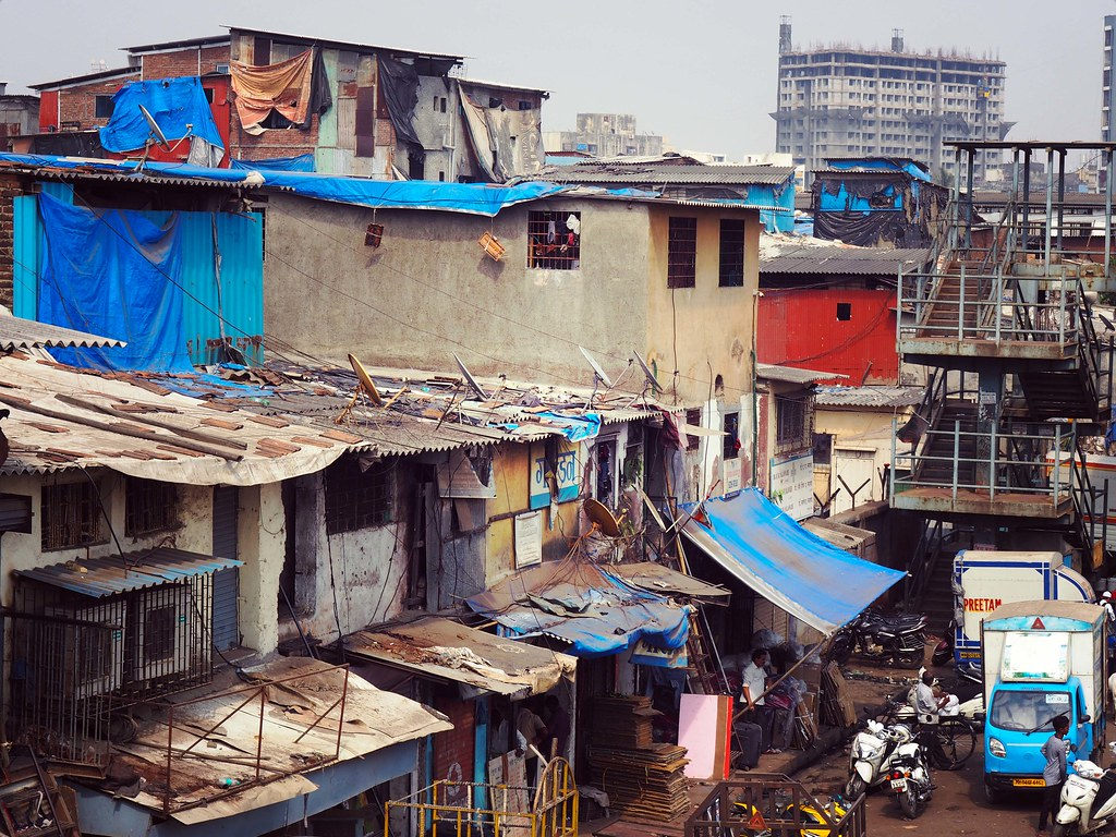 Commercial Slums India Dharavi Travel Guide Tips Tricks_effected