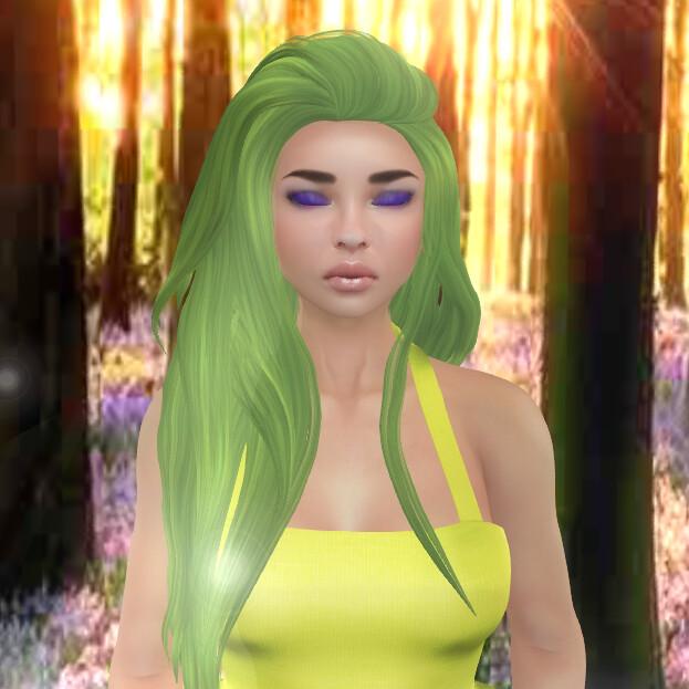 ASU - Forest Nymph makeup