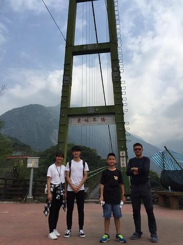 20180406坪瀨琉璃光吊橋、彩虹吊橋、東埔吊橋