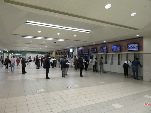 福島競馬場のスタンド1階