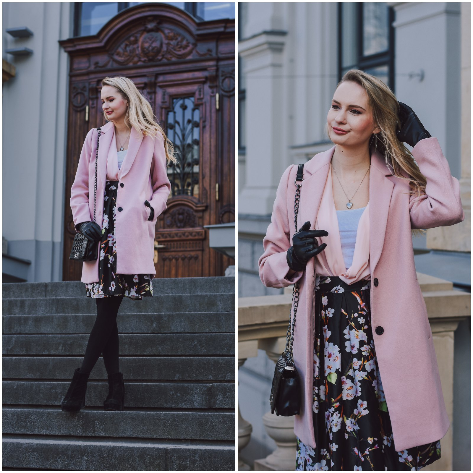 Perfect pink spring coat
