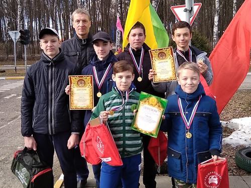 Победа в областных соревнованиях