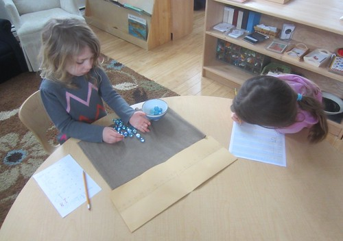 addition and number writing work
