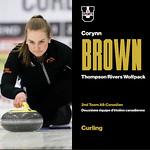 Corryn Brown 2nd team USPORTS Allstar (Mar 28, 2018)