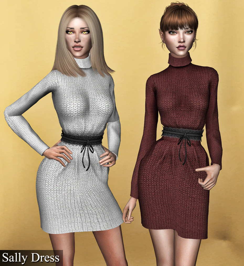 a01d024abb7 Вязаное платье с кружевным поясом