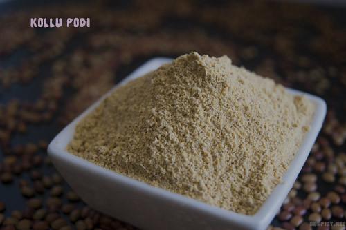 Kollu Podi/Horse Gram Powder Recipe by GoSpicy.net