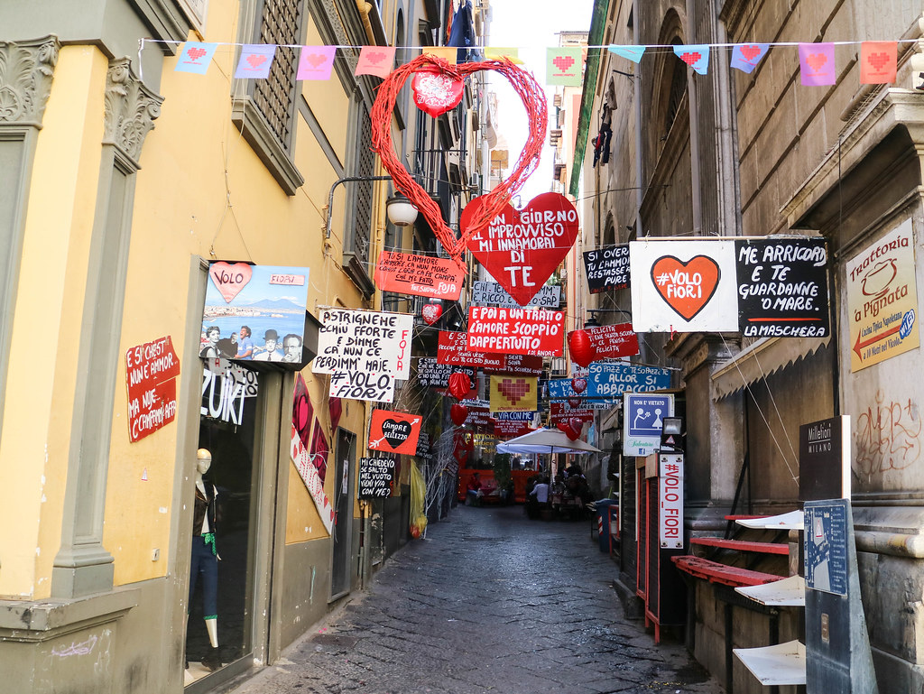 Quartieri Spagnoli de Nápoles
