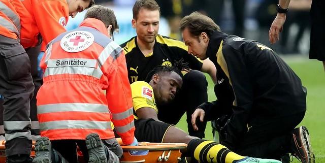 Michy Batshuayi Cedera Patah Kaki Dan Akan Absen Jelang Piala Dunia