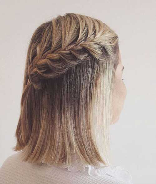 Amazing Braided Short Hairstyles For 2018 2019 Fashion 2d