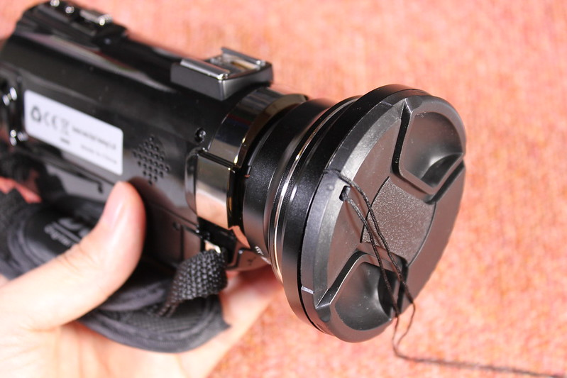 TOMTOP Andoer 4K ビデオカメラ 開封レビュー (88)