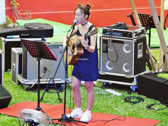 Soph T. Performing