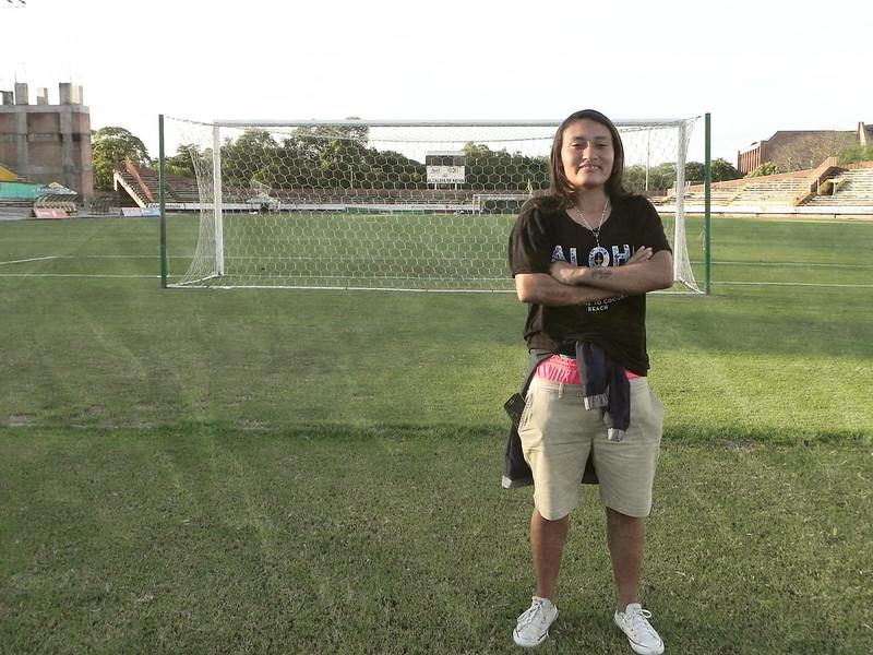 La figura y la firmeza de Angie Jimenez