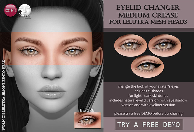 LeLutka Eyelid Changer Medium Crease