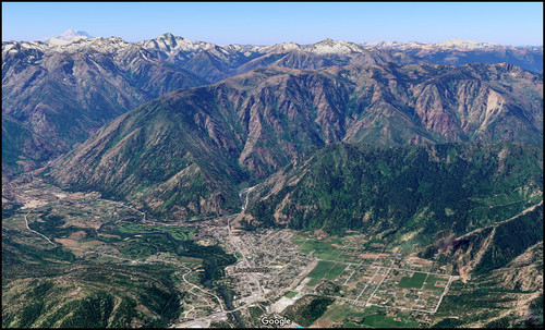 mountains northcascadeswa leavenworth googleearth3d aerialview