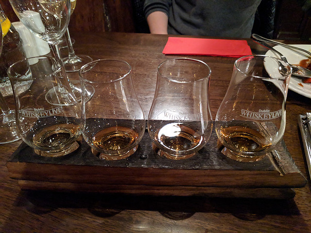 whiskey flight @ The Wicklow Heather