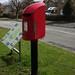 Modern post box. Slaley