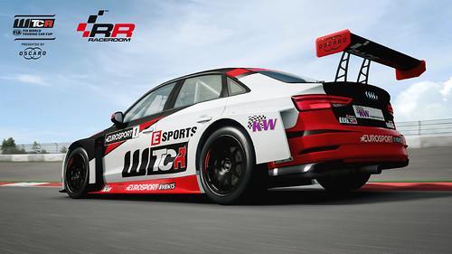 RaceRoom Audi SportRS 3 LMS TCR Rear
