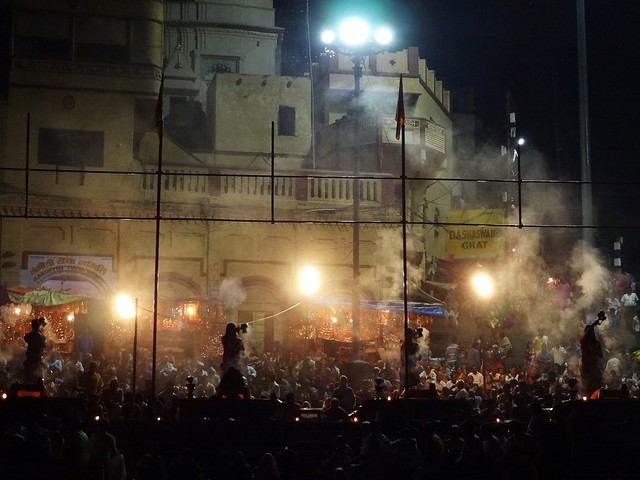 Smoke,crowd and a heavy dose of fervour...