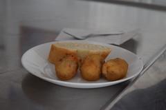 Croquetas de jamón - El Cangrejo