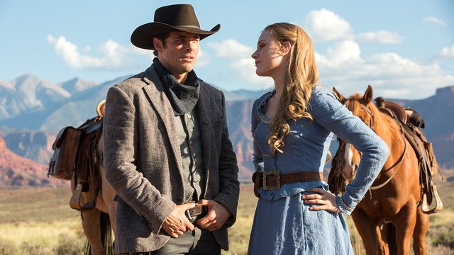 Teddy and Dolores - Westworld