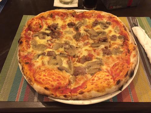 30 - Pizza Salsiccia - Hello Pizza - Sosua