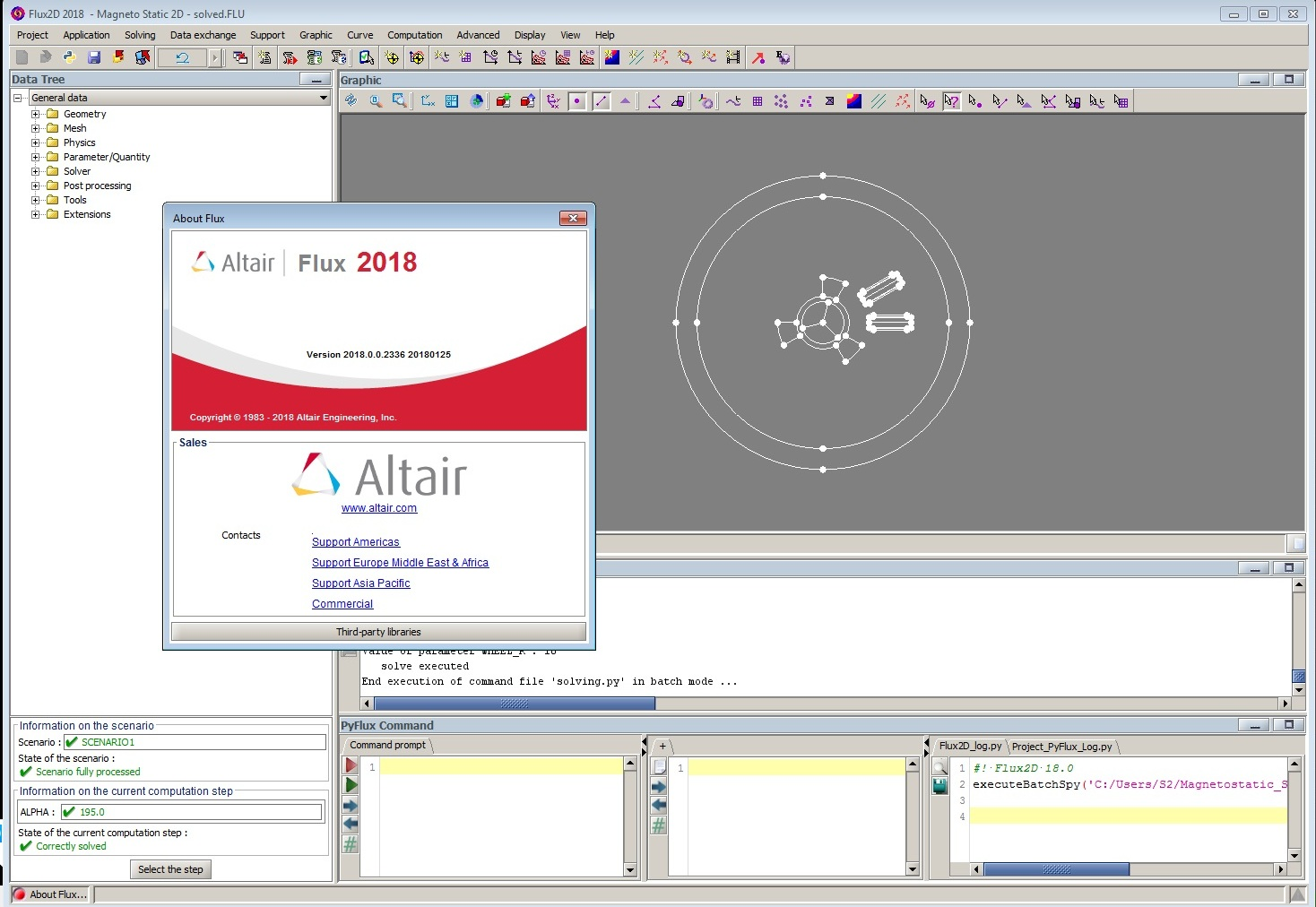Working with Altair Flux 2018.0.0 build 2336 full