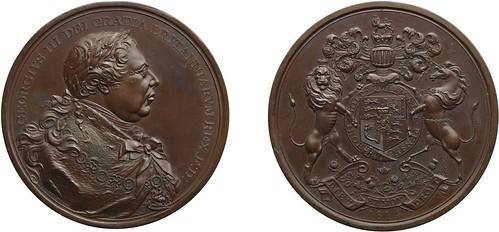1814 George III Indian Peace Medal
