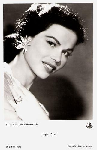 Laya Raki in Kuss mich noch einmal (1956)