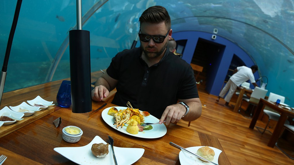 Maldives underwater restaurant 20
