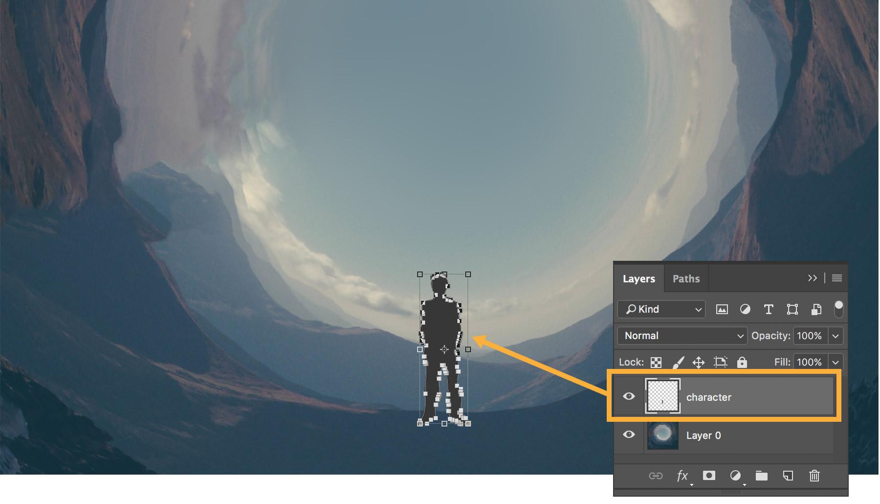 """Cách sử dụng Photoshop để tạo hình ảnh """"Round Thing"""" Cách sử dụng Photoshop để tạo hình ảnh """"Round Thing"""""""