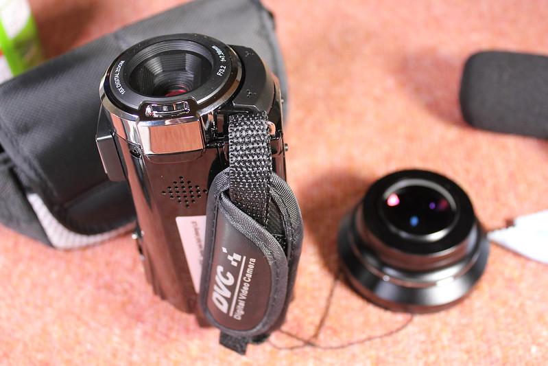 TOMTOP Andoer 4K ビデオカメラ 開封レビュー (82)