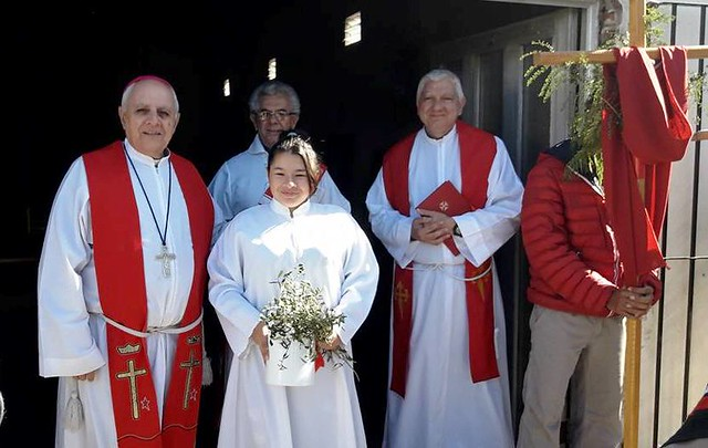 Mons. Torres Carbonell: bendición de ramos