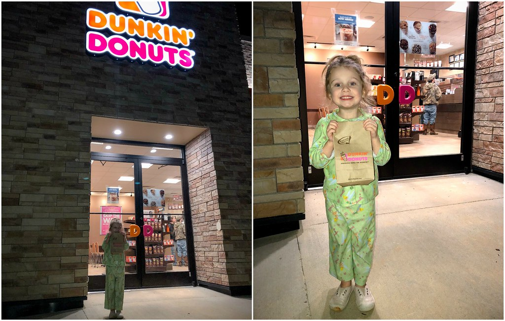 late night dunkin' run