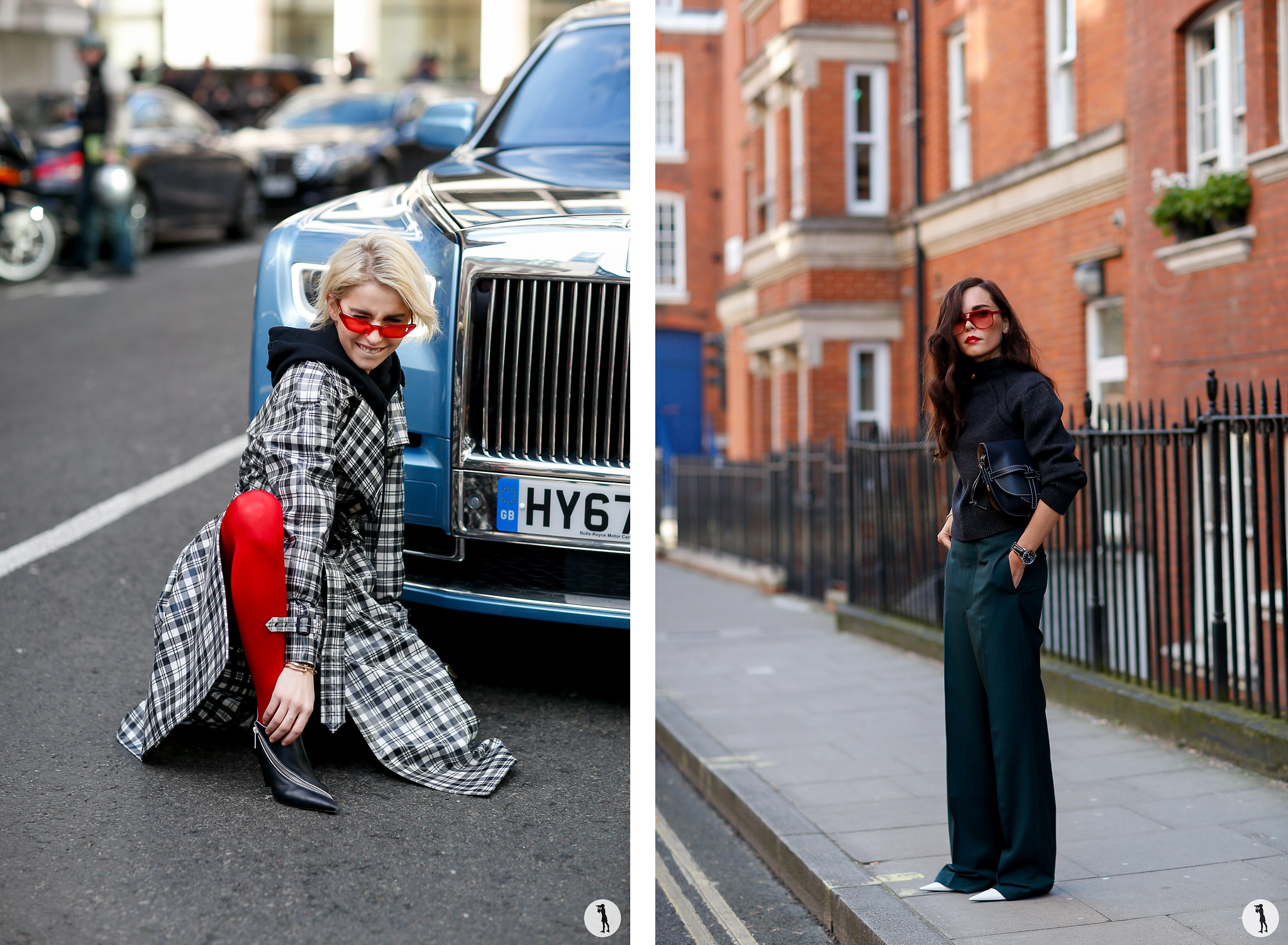 Street style - London Fashion Week Fall-Winter 2018-2019