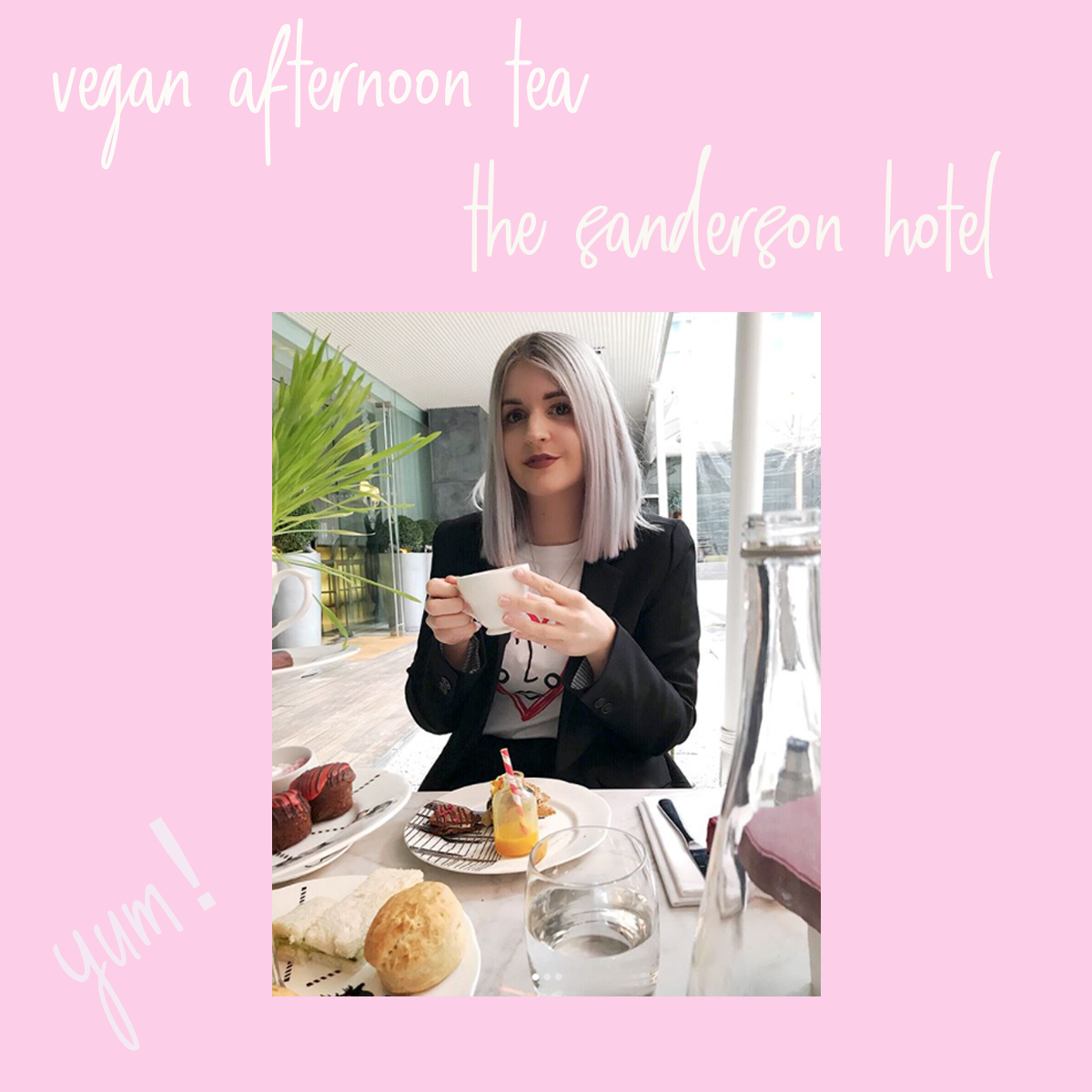vegan afternoon tea london