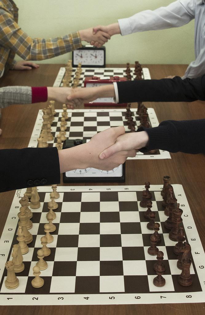 В воскресной школе «Радовесть» храма прп. Сергия Радонежского на Рязанке прошел V Шахматный турнир
