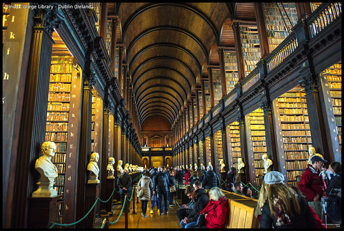 Trinity College Library - Dublin (Ireland) | by Dorron