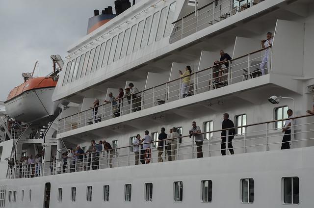 Receptivo do Navio Bremen 15/04/3018