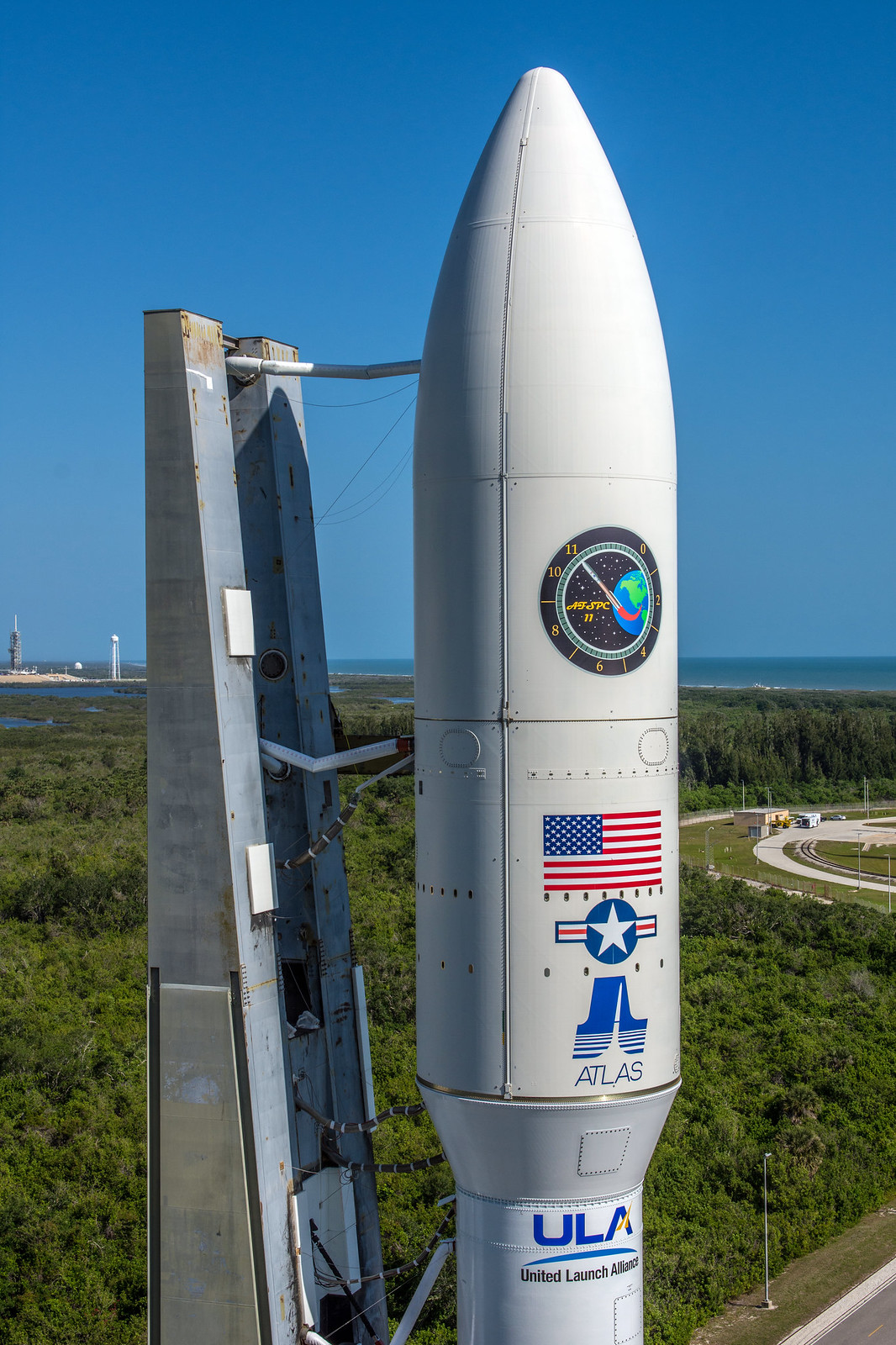 Roll to the Launch Pad: Atlas V AFSPC-11