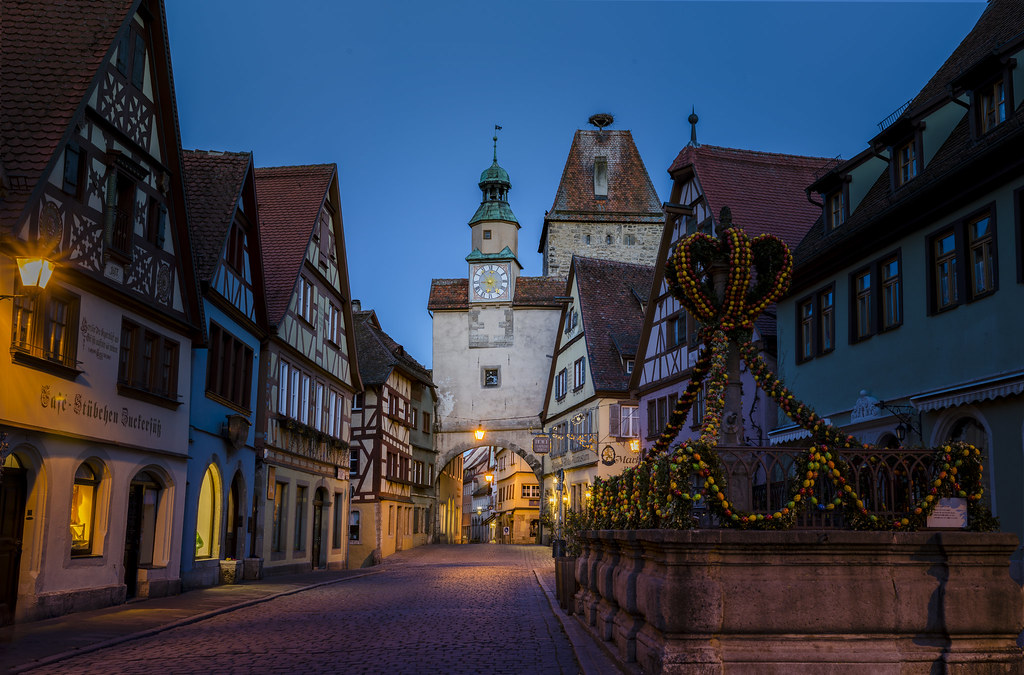 Rothenburg ob der Tauber - Markusturm