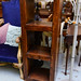 Solid wood bookcase E150