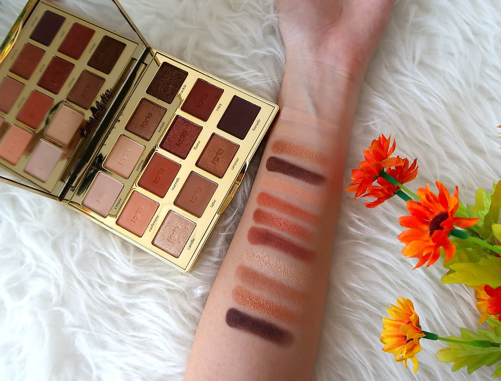 Swatches Tarte Toasted