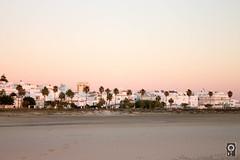 Vista de Conil de la Frontera desde la playa
