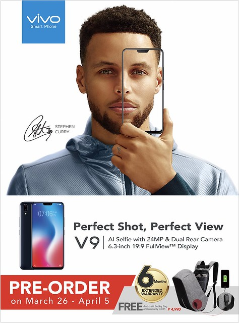 Vivo V9 with 24MP AI selfie camera to start pre-order on March 26